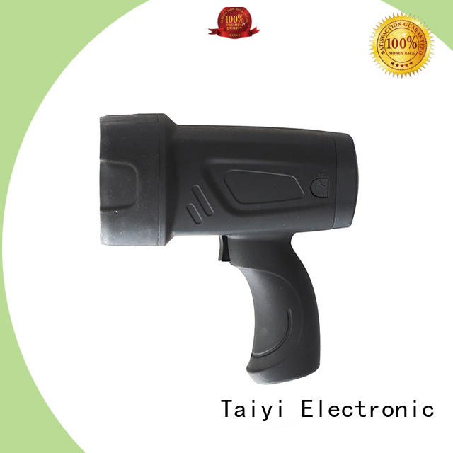 Taiyi Electronic professional waterproof rechargeable spotlight spot for search