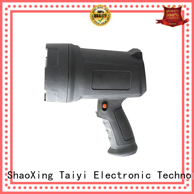 12 volt handheld spotlights operated for vehicle breakdowns Taiyi Electronic