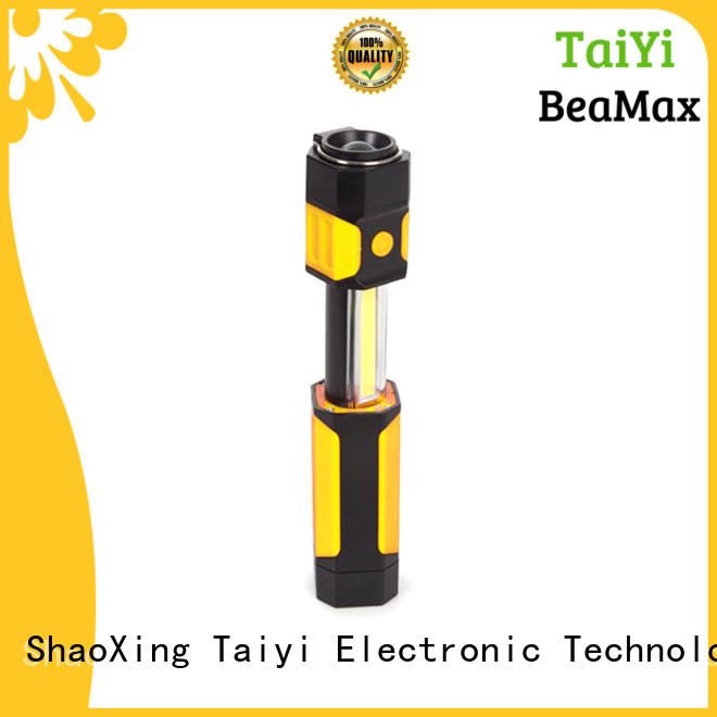 Taiyi Electronic flashlight magnetic led work light rechargeable supplier for roadside repairs