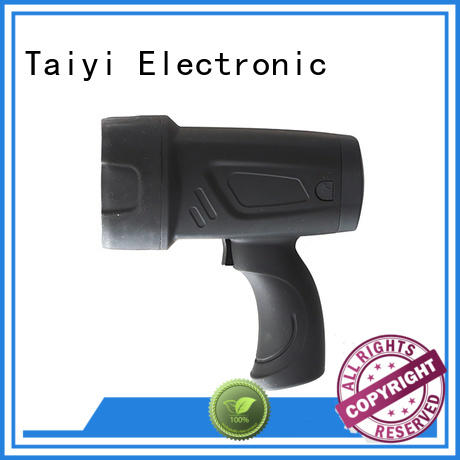 Taiyi Electronic outdoor most powerful handheld spotlight manufacturer for camping