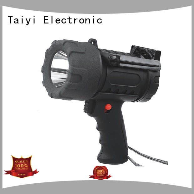 Taiyi Electronic handheld brightest portable spotlight manufacturer for sports