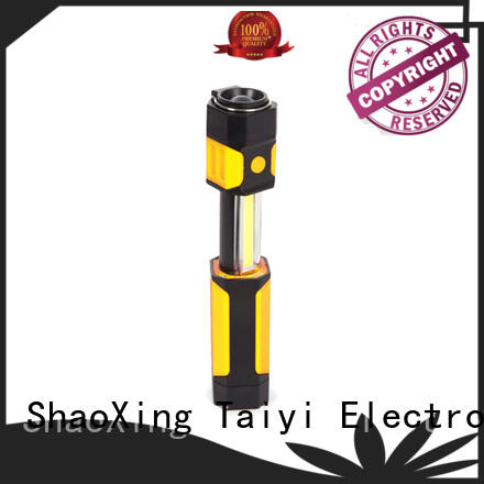 Taiyi Electronic rechargeable best cordless work light supplier for electronics