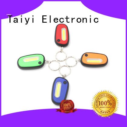 Taiyi Electronic mini keychain led flashlight series for multi-purpose work light