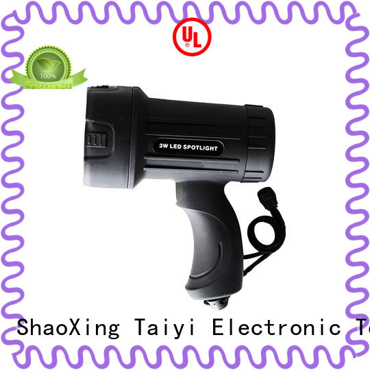 Taiyi Electronic reasonable handheld spotlight supplier for sports
