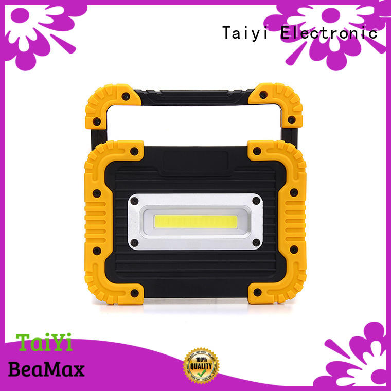 Taiyi Electronic pocket magnetic led work light rechargeable manufacturer for roadside repairs