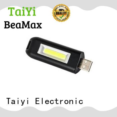 Taiyi Electronic mini promotional flashlight keychains manufacturer for electronics