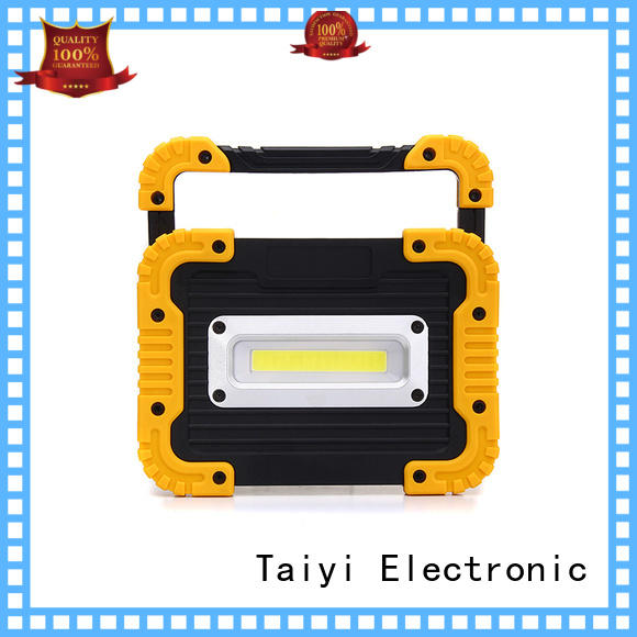 Taiyi Electronic dimmable best cordless work light series for roadside repairs
