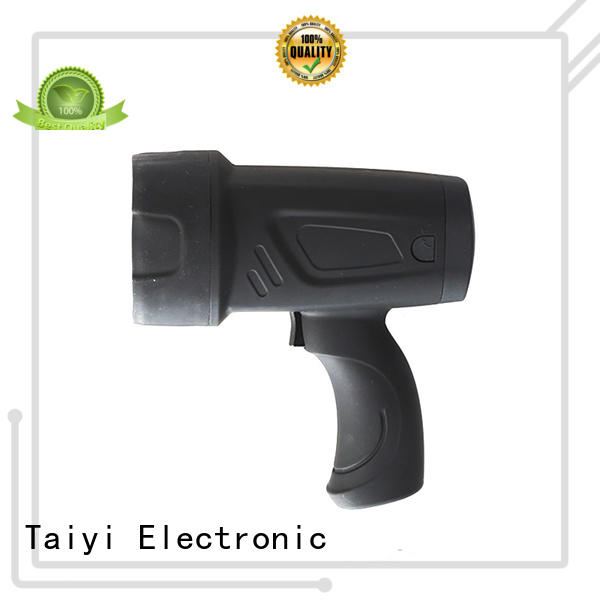 high quality handheld battery spotlight stand manufacturer for camping