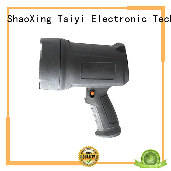 Taiyi Electronic high quality best handheld spotlight supplier for vehicle breakdowns