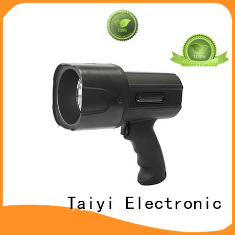 high power handheld spotlight spot for vehicle breakdowns Taiyi Electronic