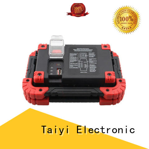 Taiyi Electronic stable magnetic led work light rechargeable series for roadside repairs