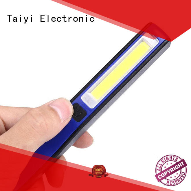 plastic 5000 lumen led work light manufacturer for roadside repairs Taiyi Electronic