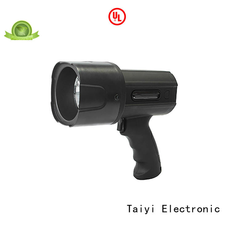 Taiyi Electronic stand search light manufacturer for security