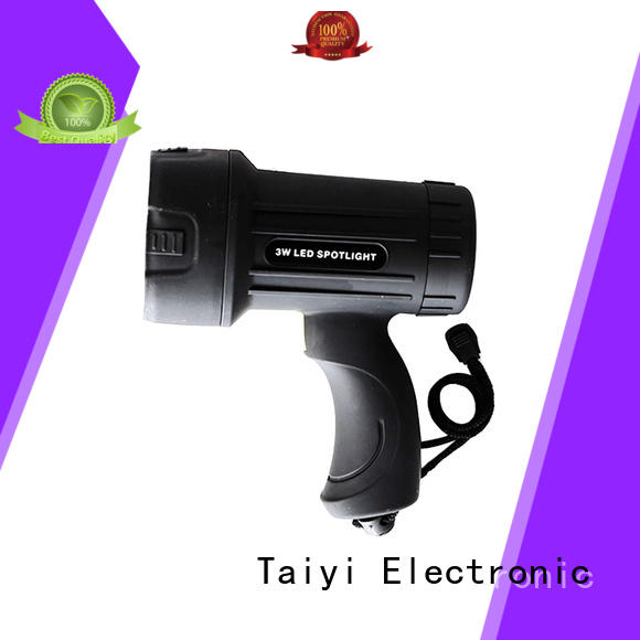 Taiyi Electronic durable best portable spotlight supplier for sports