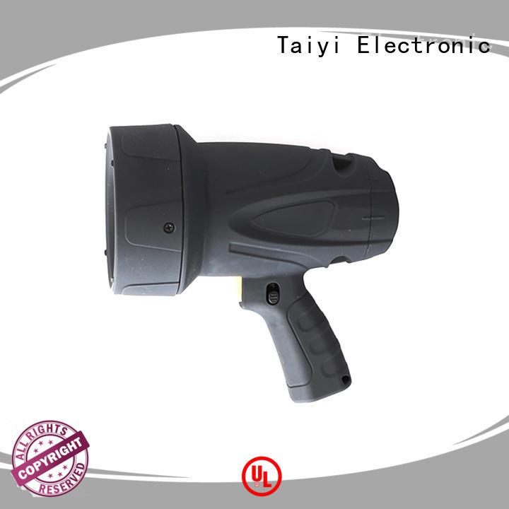Taiyi Electronic reasonable led handheld spotlight 12v series for vehicle breakdowns