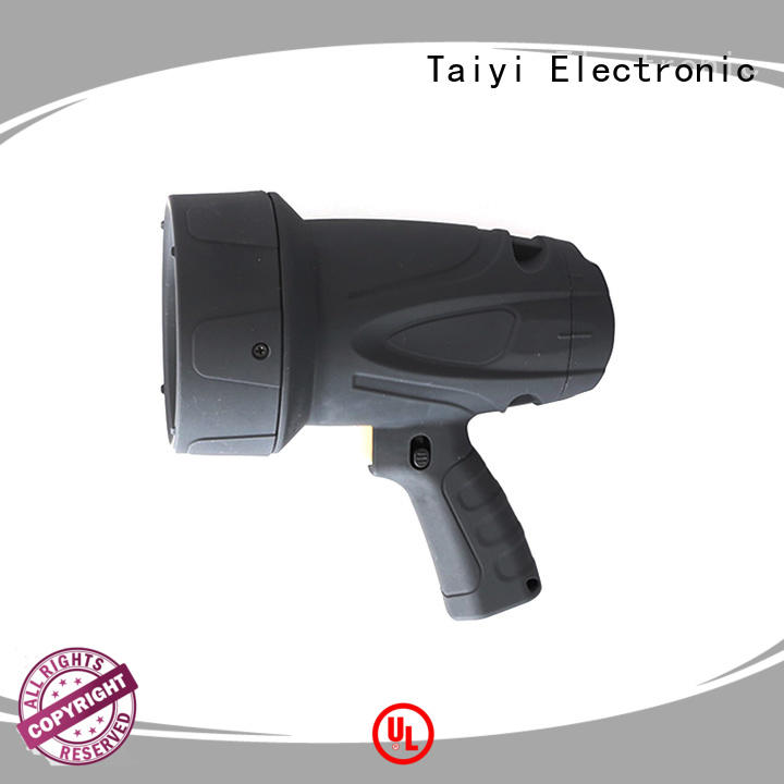 Taiyi Electronic reasonable led handheld spotlight 12v series for vehicle breakdowns