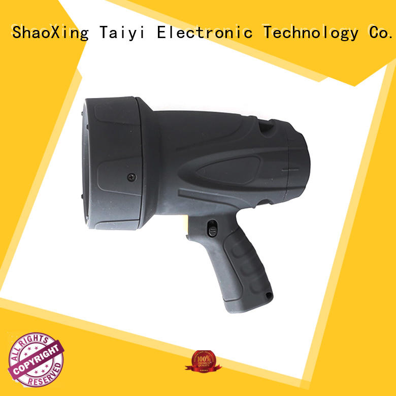 Taiyi Electronic searchlight 12v hunting spotlight wholesale for sports