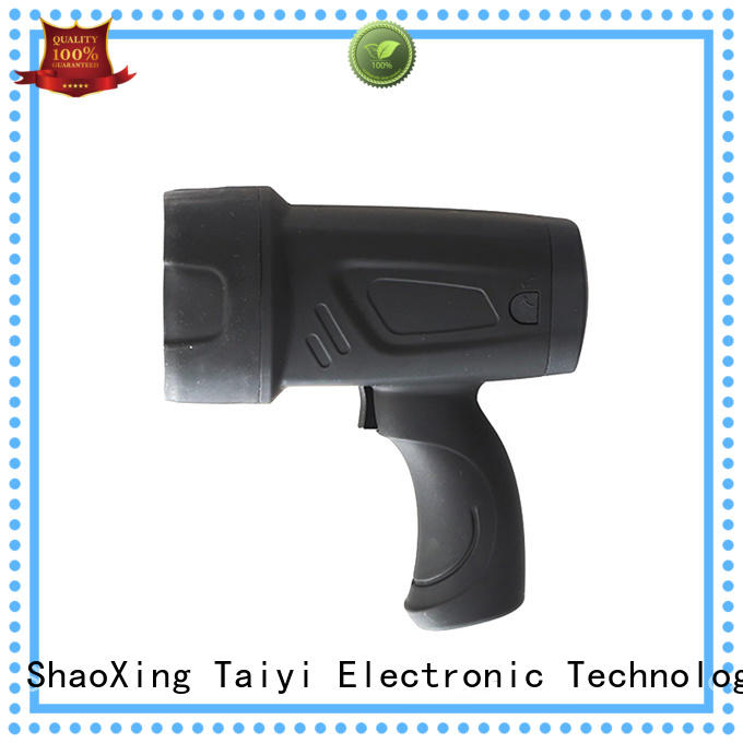 Taiyi Electronic spot brightest handheld spotlight series for search