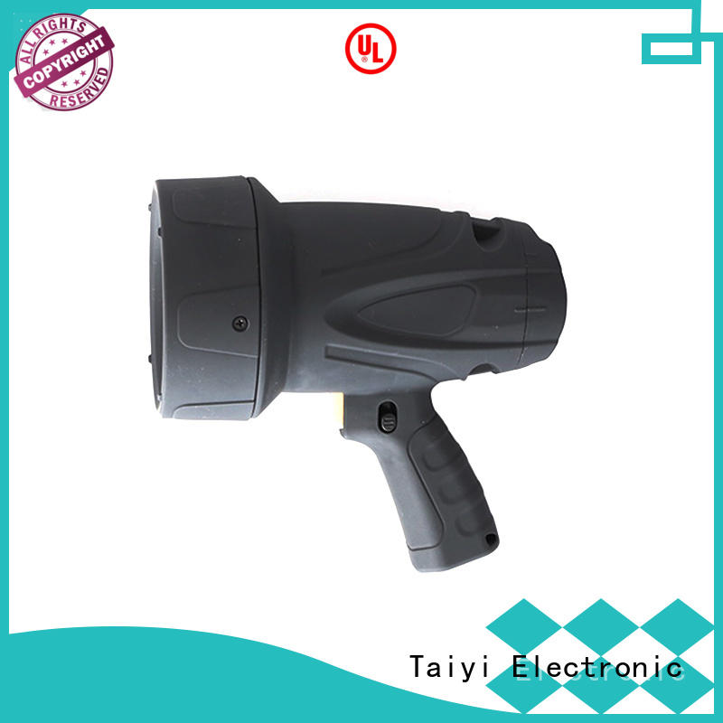 Taiyi Electronic operated handheld spotlight series for camping