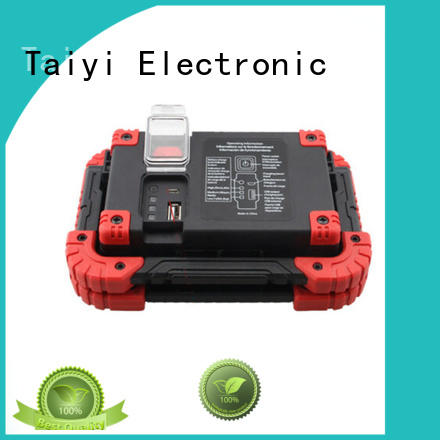 inspection portable rechargeable work lights supplier for roadside repairs Taiyi Electronic