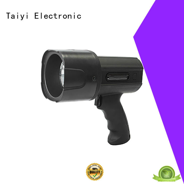 Taiyi Electronic battery brightest handheld spotlight series for sports