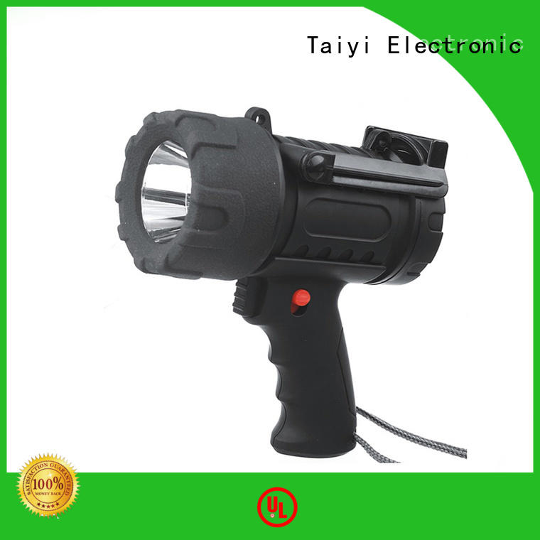 Taiyi Electronic professional brightest rechargeable spotlight wholesale for search