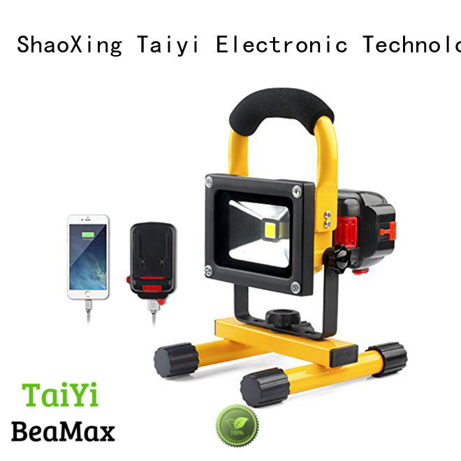 Taiyi Electronic clip portable work light manufacturer for roadside repairs