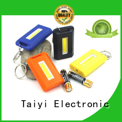 Taiyi Electronic cob best keychain flashlight series for multi-purpose work light