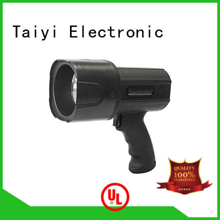 Taiyi Electronic professional halogen handheld spotlight manufacturer for sports