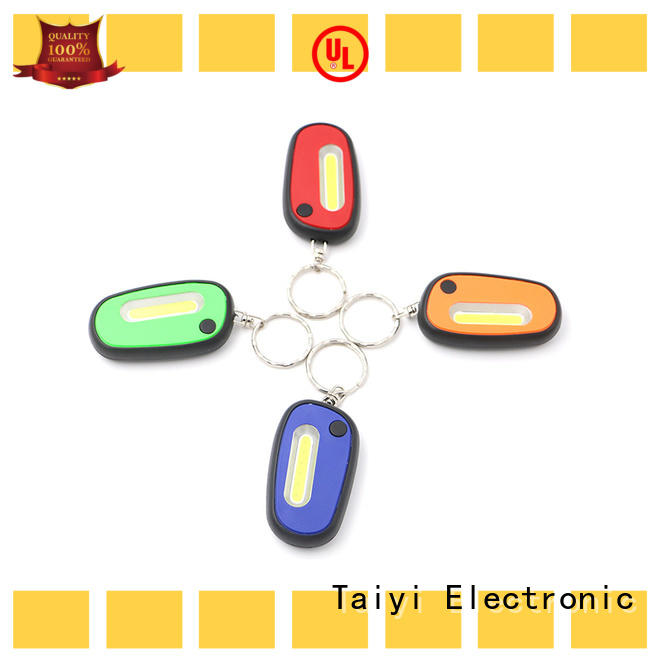 Taiyi Electronic high quality flashlight keychain with logo wholesale for multi-purpose work light