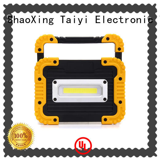 Taiyi Electronic rechargeable 20w rechargeable led work light wholesale for roadside repairs