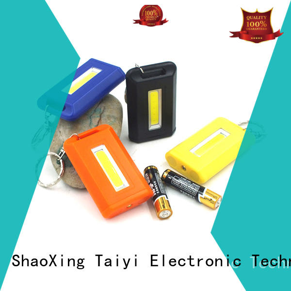 Taiyi Electronic colorful best keychain light supplier for multi-purpose work light