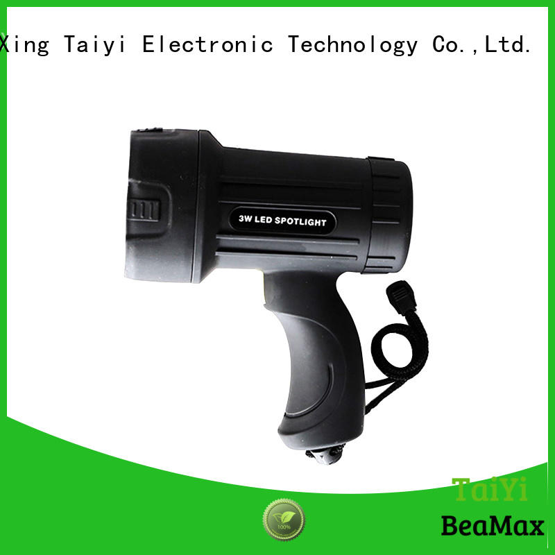 searchlight small handheld spotlight rechargeable for sports Taiyi Electronic