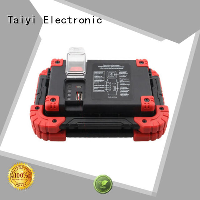 Taiyi Electronic hook rechargeable cob led work light series for roadside repairs