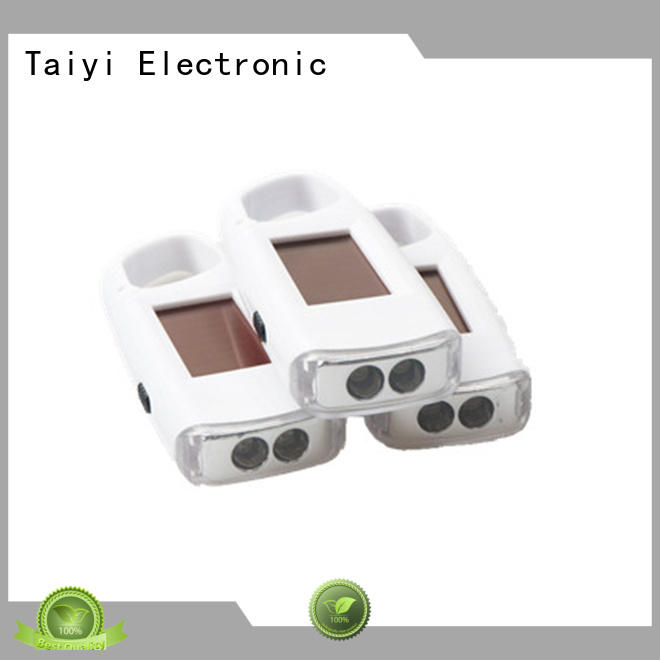 Taiyi Electronic colorful keychain light series for roadside repairs