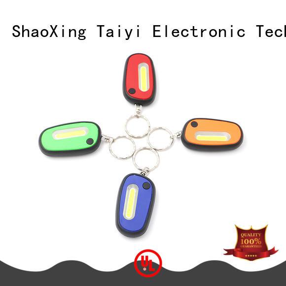 Taiyi Electronic solar keychain flashlight manufacturer for electronics