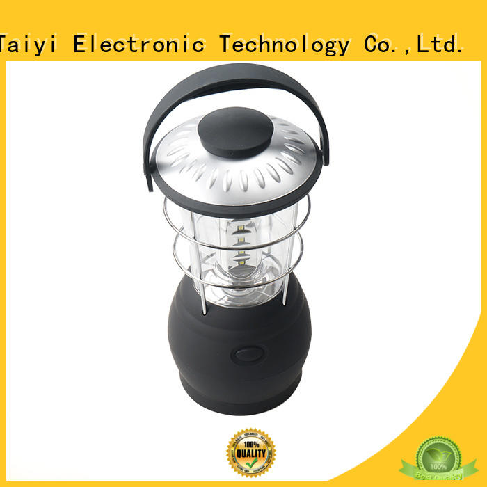 Taiyi Electronic rechargeable large led lantern manufacturer for roadside repairs