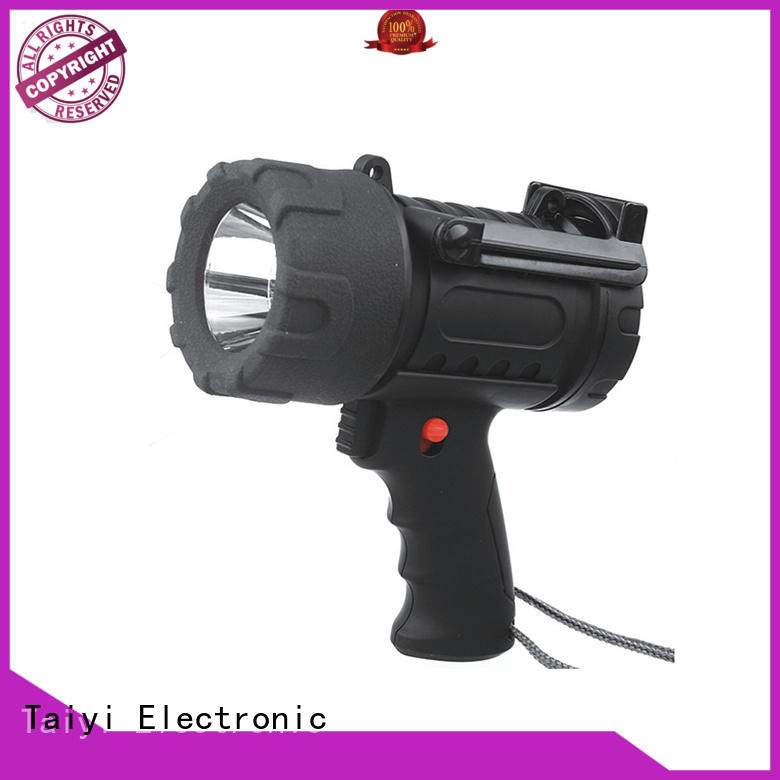 Taiyi Electronic search best handheld spotlight manufacturer for security