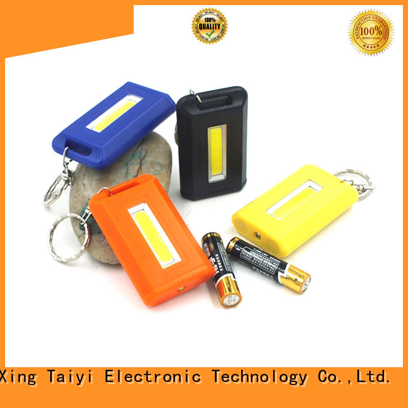 Taiyi Electronic super powerful keychain flashlight supplier for multi-purpose work light