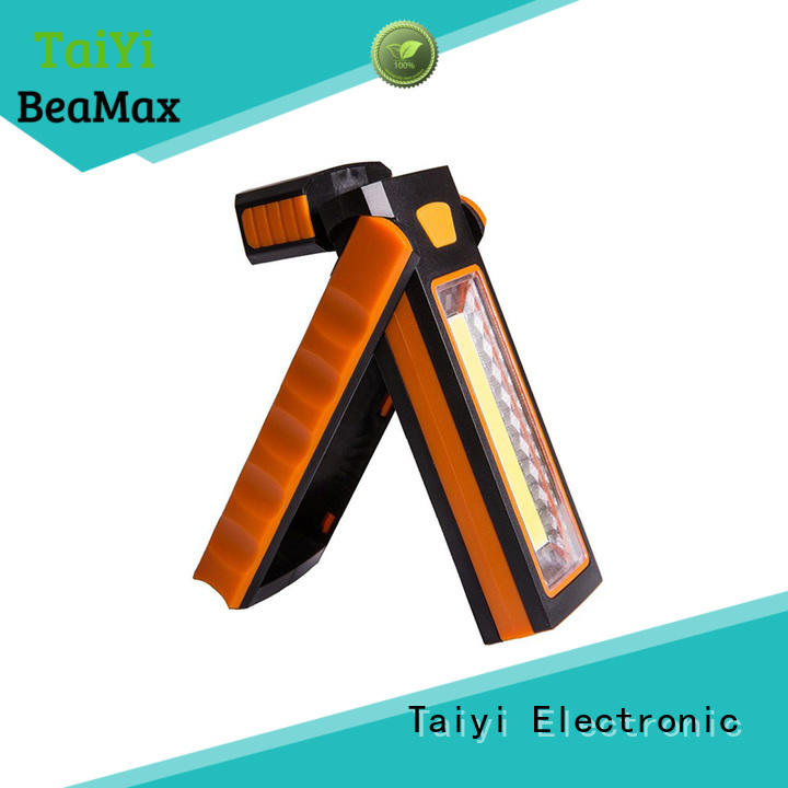 professional rechargeable cob led work light flexible series for roadside repairs