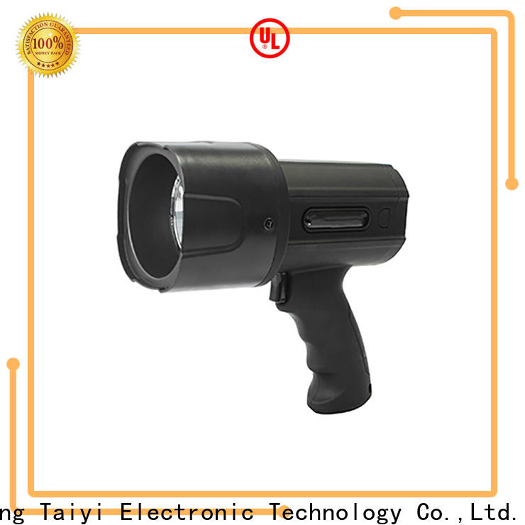 professional rechargeable led spotlight handheld supplier for sports