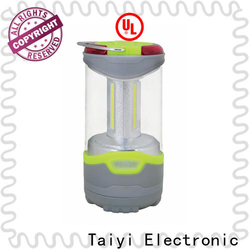 Taiyi Electronic rechargeable rechargeable portable lantern supplier for roadside repairs