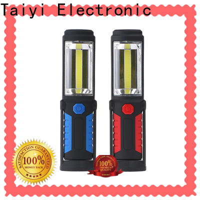 Taiyi Electronic rechargeable portable work light supplier for electronics