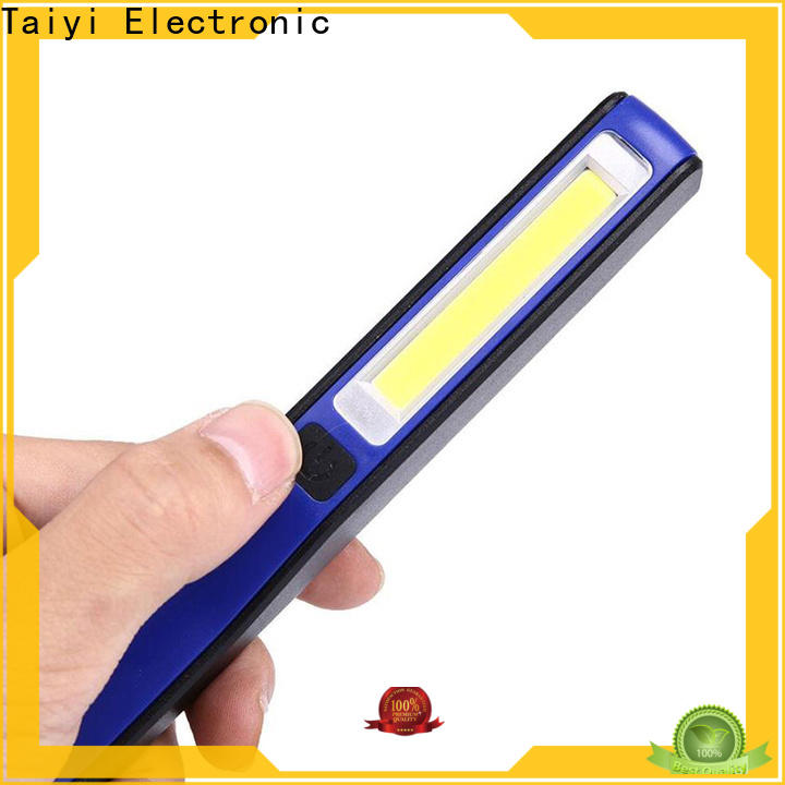 Taiyi Electronic durable rechargeable work light manufacturer for roadside repairs