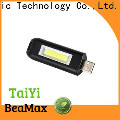 Taiyi Electronic rechargeable keychain led flashlight wholesale for electronics