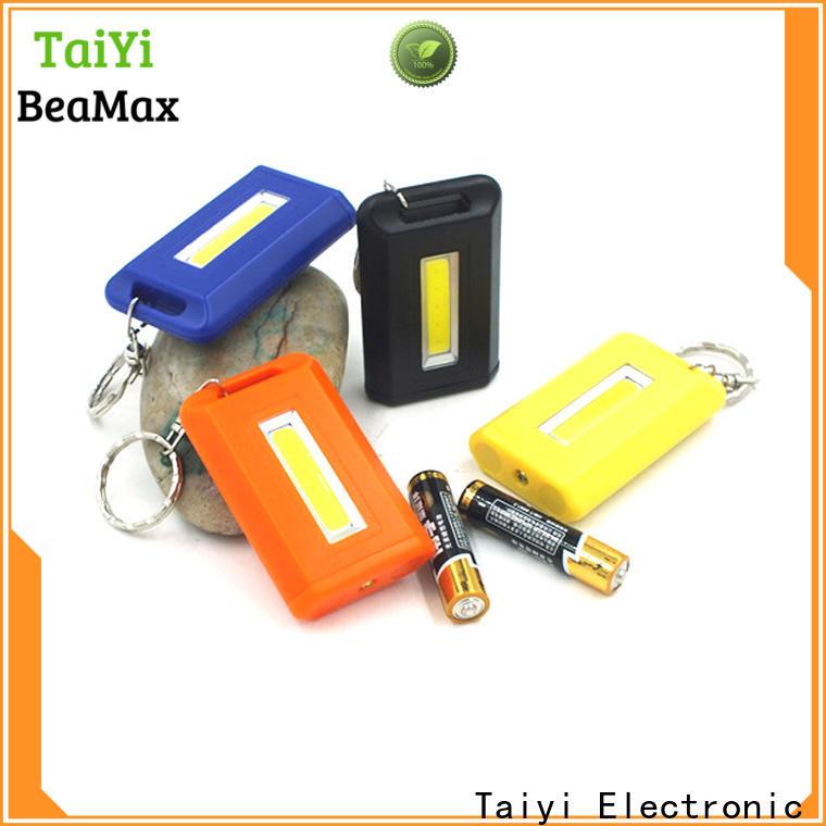professional flashlight keychain with logo solar wholesale for multi-purpose work light