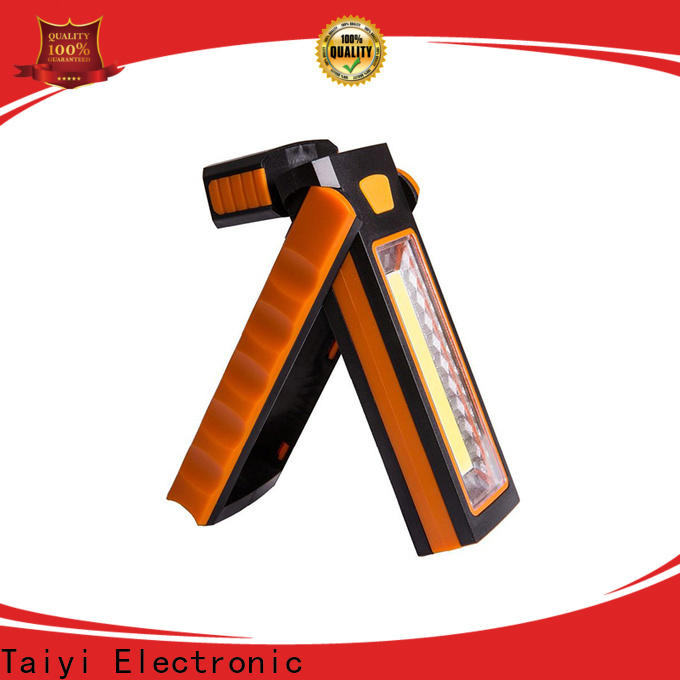 Taiyi Electronic online rechargeable cob work light manufacturer for roadside repairs