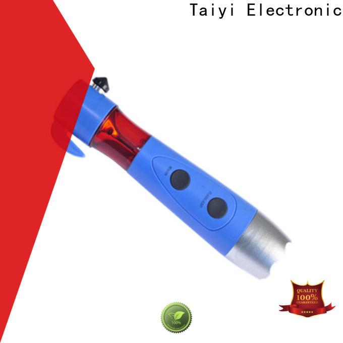 Taiyi Electronic safe waterproof flashlight series for multi-purpose work light