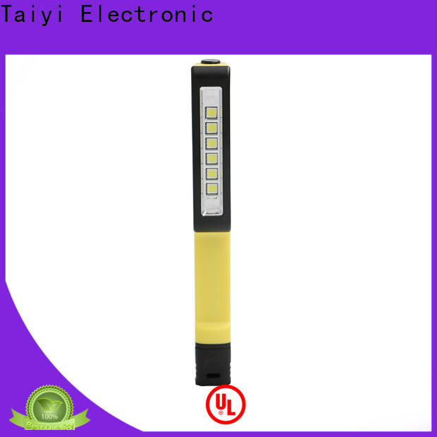 Taiyi Electronic high quality rechargeable magnetic work light series for roadside repairs