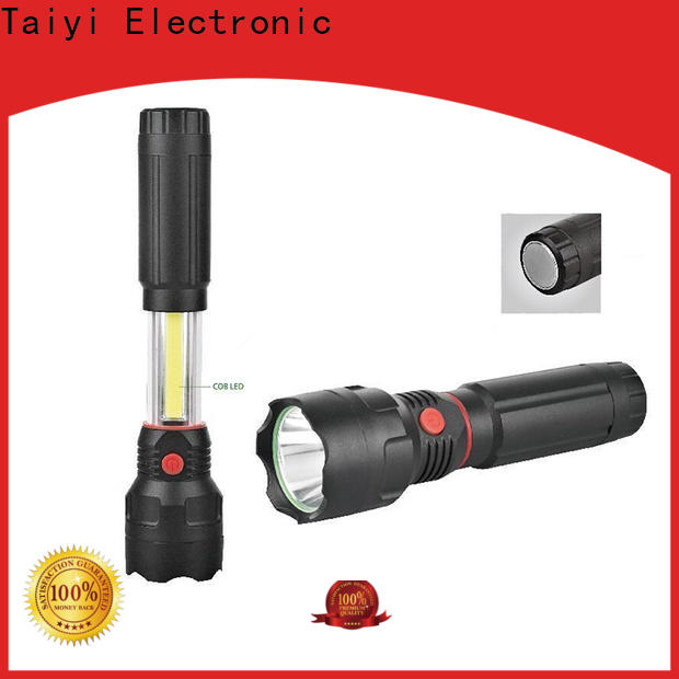 Taiyi Electronic high quality rechargeable magnetic work light wholesale for roadside repairs